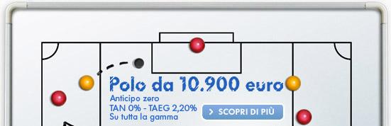 VOLKSWAGEN POLO DA € 10.900